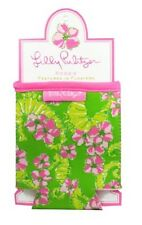 LILLY PULITZER FLOATERS DRINK HUGGER Water Bottle Cooler Koozie Pink Seahorses
