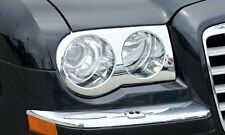 Chrysler 300c chrome 'Bentley' Style Headlight Covers (2005 - 2010)