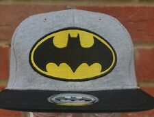 Batman Snapback Grey/Black  Baseball Cap
