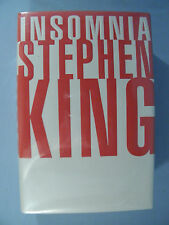 "Stephen King 1994 1st ed. ""Insomnia"" by Viking Press - correct full number line"