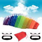 1.4m Beginner Sport Power Dual Line Stunt Parafoil Parachute Rainbow Beach Kite