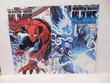 World War Hulk Marvel Comic Books Captain America Vs. Wolverine