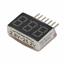 Checker Tester test 2.8V -25.2V 1-6s RC 1S-6S Lipo Battery Voltage Indicator LE