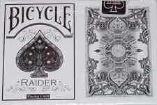 Bicycle White Raider Playing Cards - Limited Edition - SEALED