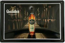 GLENFIDDICH - MALTMASTER, BLECHSCHILD SCOTCH WHISKY