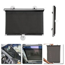 Car Retractable Sun Shade Curtain Suction Cup UV Protection Side Window Curtain