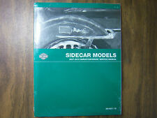 HARLEY SIDECAR MODELS SERVICE REPAIR CATALOG MANUAL 2007-2010 99485-10