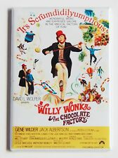 Willy Wonka and the Chocolate Factory FRIDGE MAGNET (2 x 3 inches) movie poster