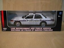 1:18 Scale Motormax  Ford Crown Victoria Asheville, Nc Police