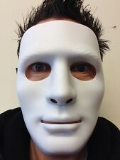 White Mime Robot Mask The Purge Dance Crew Halloween Hockey Hip Hop Jabba Masks