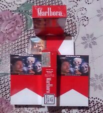 5 Pack MARLBORO INDONESIA New Design (20*5 = 100 Cigarettes) kretek