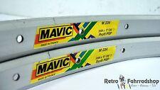 2Stk. Mavic M234 MTB 32 Loch Felgen Baujahr1992/93 je NUR 485g RAR TOP Zustand