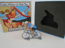 Fausto Coppi Bianchi 1952 Cycling Figure & Box Tour De France Giro Italia Rapha