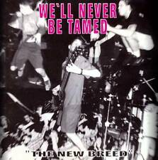 WE´LL NEVER BE TAMED The New Breed - Sampler CD