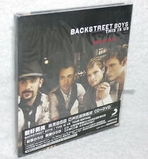Backstreet Boys This Is Us Tour Edition Taiwan Ltd CD+DVD w/BOX