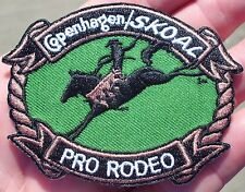 COPE  SKOAL PRO-RODEO IRON-ON CLOTH PATCH