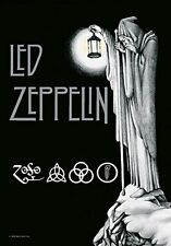 Led Zeppelin Stairway To Heaven Textile Poster Flag 75x110cm HEART ROCK