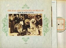 KANE GANG the bad and lowdown world of KWLP2 A1/B2 uk with inner LP PS VG/VG+