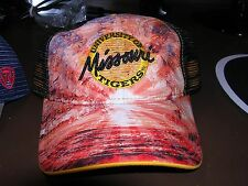 NEW  missouri tigers  ADULT SNAP BACK FOOTBALL  CAP