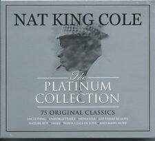 Nat King Cole - The Platinum Collection - 75 Original Classics (3CD) NEW/SEALED