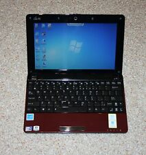 "Notebook ASUS Eee PC 1005PEB 10,1 Zoll  Mit ""Windows®7"" Edel Rot"