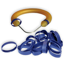 "50 medium (1/2""-5/8"") Shrink Rings for covering speargun band constrictor cord"
