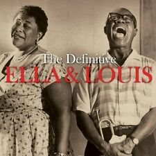 Ella Fitzgerald & Louis Armstrong DEFINITIVE 3 Albums + Bonus Songs NEW 3 CD