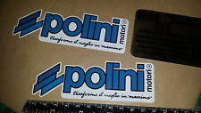 2x Polini Full Colour Decals Stickers, Gilera, Vespa, Italjet, Sym, Speedfight,