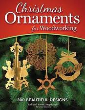 `Longabaugh, Rick/ Longabau...-Christmas Ornaments For Woodworking BOOK NEW