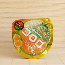 Japanese KORORO Cantaloupe MELON Super Soft Gummy Candy Japan UHA jelly