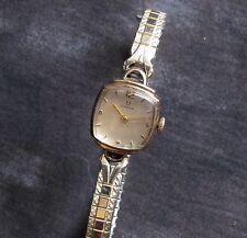 Omega Ladies 17J Swiss Watch, 1940's Running.