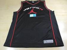 NIKE AIR JORDAN TEAM JUMPMAN 23 BASKETBALL JERSEY BLACK RED XL BRED BANNED AJ I