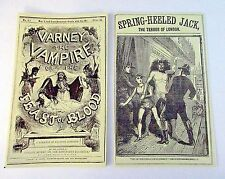 Penny Dreadful Varney Vampire Spring Heeled Jack Showtime set