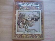 Grimm's Fairy Tales 20 Stories Illustrated Arthur Rackham 1973 Viking Press HCDJ