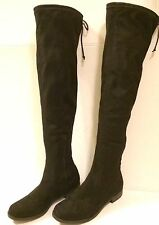Unisa Black Over The Knee Women's Boots - Size 10