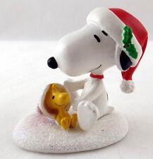 Dept 56 - Happy Holidays Snoopy & Woodstock - Peanuts Figurine - NIB