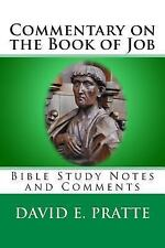Commentary on the Book of Job : Bible Study Notes and Comments (2014, Paperback)