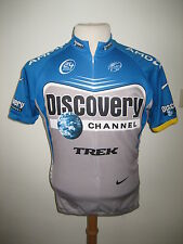Discovery channel 2006 USA jersey shirt cycling wielershirt trikot Nike size M