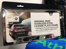 BMW X5 X-5 License Plate Frame OEM 82120418629