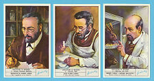 LIEBIG - SET OF 6 CARDS -  S 1859  /  F 1860 - SEARCH  FOR  MICROBES  II -  1973