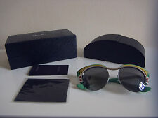 Genuine Designer Prada Womens SPR600 52*17 1BC-7W1 140 3N green dixie sunglasses
