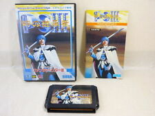 PHANTASY STAR III 3 Toki no Keishosha Mega Drive SEGA Import JAPAN md