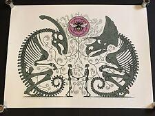 DAN MCCARTHY - Shared Memory Pollinators - RARE SIGNED art screen print 2008