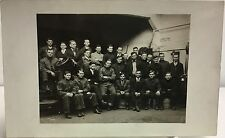 RPPC Real Photo Postcard Men Of Cleveland Auto School Class1915 Cleveland OH