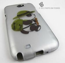 WILDERNESS PANDA BEAR HARD SNAP-ON CASE COVER SAMSUNG GALAXY NOTE II 2 ACCE