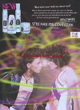 "Wella Shockwaves ""Style Made For Connection"" 2004 Magazine Advert #3580"