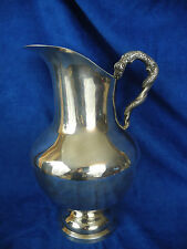 925 Sterling Silver Large Jug with Serpent Handle