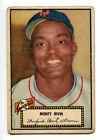 1952 Topps Monford Monty Irvin Black Back Card #26 VG Giants 15922
