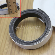 Flexible Rubber Self Adhesive Magnet Magnetic Tape Strip Craft 1 Meter Length