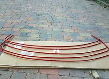 Peugeot 205 gti rear bumper red moulding strip new